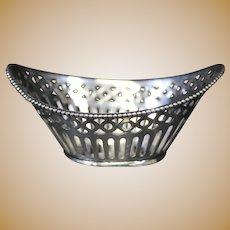 Schoonhoven Almond Dish .835 Silver