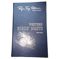Western Birds' Nests - Peterson Field Guides - Audubon Society - Pristine
