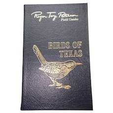 Birds of Texas - Peterson Field Guides - Audubon Society - Pristine