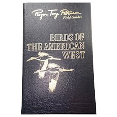 Birds of The American West - Peterson Field Guides - Audubon Society - Pristine