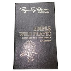 Edible Wild Plants - USA - Peterson Field Guides - Audubon Society - Pristine