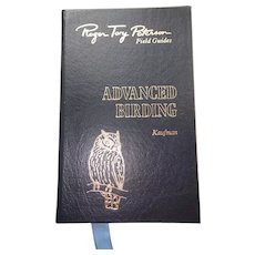 Advanced Birding  - Peterson Field Guides - Audubon Society - Pristine