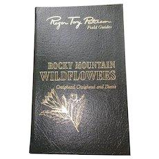 Rocky Mountain Wildflowers - Peterson Field Guides - Audubon Society - Pristine