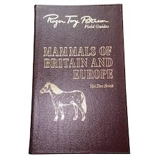 Mammals of UK & Europe  - Peterson Field Guides - Audubon Society