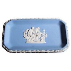 Wedgwood Rectangular Classic Blue Dish