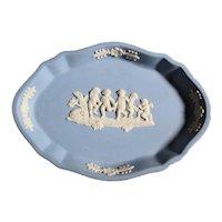 Wedgwood Oval Classic Blue Dish