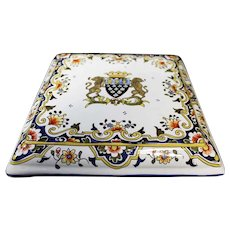 Mont Saint Michel - Stunning Ceramic Trivet or Stand - Ceramic