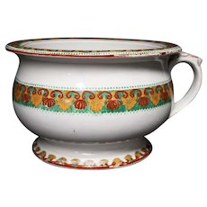 F. Morley & Co - Hanley - Amusing Colorful Chamber Pot