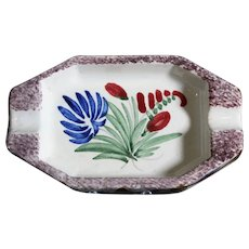 Henriot Quimper Decorative Ashtray or Small Bowl