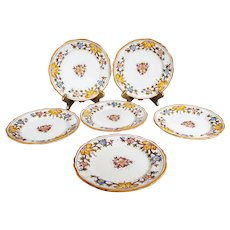 Grazia Deruta - 20.5cm Italian Side Plates  - Majolica