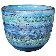 Aldo Londi Neat Blue Retro Bowl
