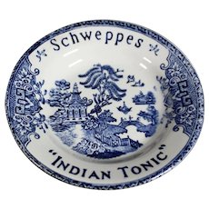 Schweppes Tonic Advertising Dish - Luneville France