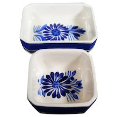Henriot Quimper - Pair of Breton Ceramic Dishes or Trays