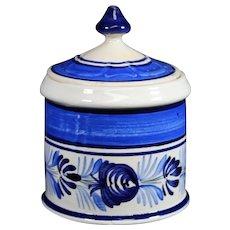 Henriot Quimper - Ceramic Lidded Breton Jar