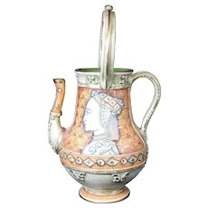 Gialletti - Deruta - Italian Ceramic Jar Carafe with Dual Handles