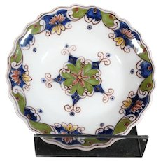 Tichelaar Makkum Dish or Bowl with Geometric Designs