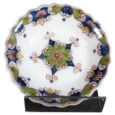 Tichelaar Makkum Dish or Bowl with Geometric Designs