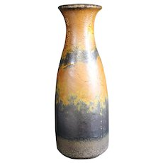 Brown & Gray Scheurich German Pottery Vase