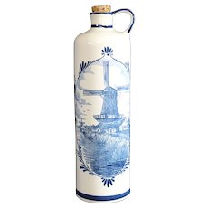 Jenever or Genever Dutch Decorative Gin Bottle 27cm