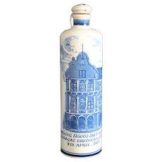 Jenever or Genever Dutch Decorative Gin Bottle 29cm
