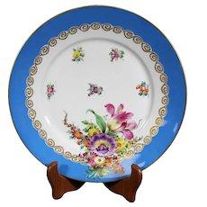 Helena Wolfsohn Decorated 25cm Dresden Plate