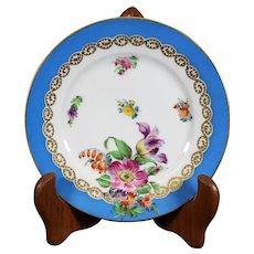 Helena Wolfsohn Decorated 15.5cm Dresden Plate