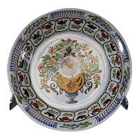 Tichelaar Makkum Dutch 32cm Decorated Plate