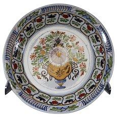 Tichelaar Makkum Dutch 32cm Decorated Plate