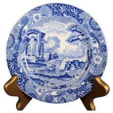 Copeland Spode Blue Italian Plate 14cm