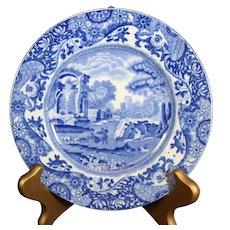 Copeland Blue Italian Large Plate - 16.5cm