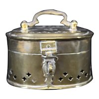 Attractive Brass Fragrance or Incense Box