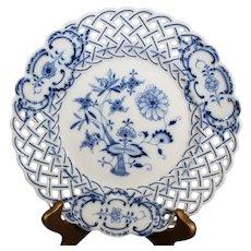 Ernst Teichert - Meissen -Onion Design Plate - Early 19th century