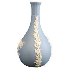 Wedgwood Jasperware Blue Baluster Vase