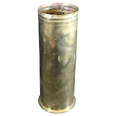 Brass July 1915 Mortar Shell or Obus Casing - First World War - History