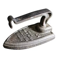 Cast Iron French Sad Iron - Late 1890's