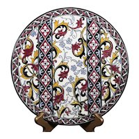 Gien - Mid Sized Classical Designed Wall Plate or Platter