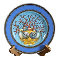The Treasures of the Sea Decorative Versace Rosenthal  Collectors Plate