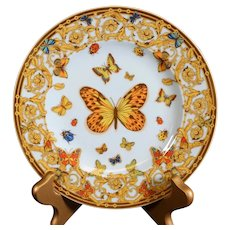 The Garden of Versace Decorative Versace Rosenthal Collectors Plate