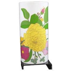 Wolf Bauer - Studio Line - Rosenthal - Multicolor Floral Vase