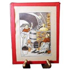 Harry Elliot - French illustrator - Monks Brewing Beer
