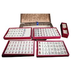SE Asian Mahjong - Mah Jongg Set in Storage Case