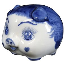 Irresistible Ceramic Smiling Piggy Money Bank