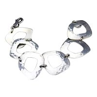 Ed Levin Sterling Silver Morocco Bracelet