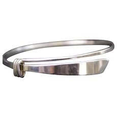 Ed Levin Sterling Silver Slide Bracelet