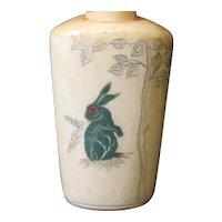 Rabbit & Elephant Snuff. Medicine or Perfume Bottle