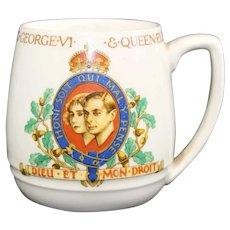 1937 King George VI Coronation Mug