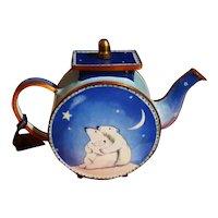 Goebel Clare Maddicott Enamel Polar Bear Design Teapot