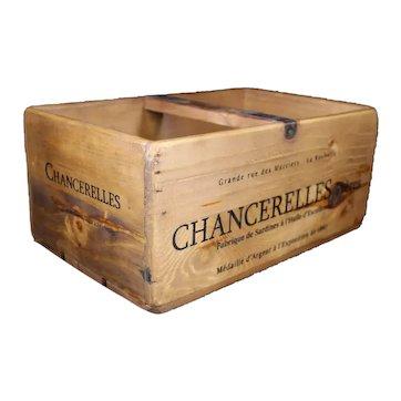Sardine Oil Vintage Style Storage Delivery Box