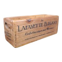Au Lafayette Elegant Storage or Delivery Box