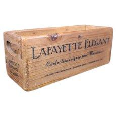 Au Lafayette Elegant Storage or Delivery Box